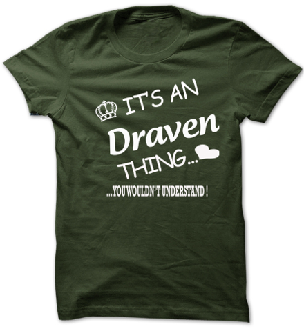 Its An Draven Thing. You Wouldns Understand